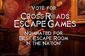 cross roads escape games is nominated for best escape room in the us