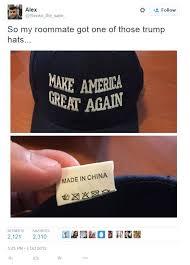 Made In China Meme - donald trump made in china meme whereismyvote info