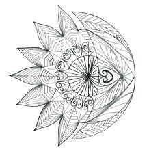 sun and crescent moon design by thehoundofulster deviantart