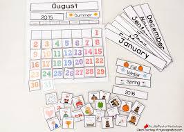 cute free printable calendar circle kids