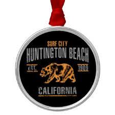 huntington california ornaments keepsake ornaments zazzle