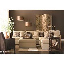 Bassett Sectional Sofa Bassett Beckham 3974 Transitional U Shaped Sectional With