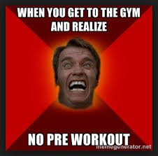 Preworkout Meme - how to take your pre workout supplement powder city
