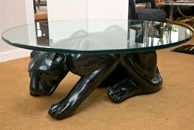 black panther cocktail table at 1stdibs