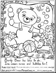 unbelievable coloring pages summer playing fun kids with summer