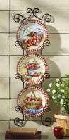 hanging wall kitchen decor apple decor decorative plates wall
