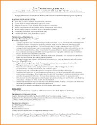 event coordinator resumes 11 event planner resume sle precis format