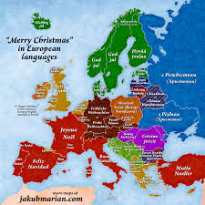 Indo European Languages Family Tree Map by Merry Christmas U0027 In European Languages Map
