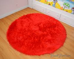 Round Red Rugs Bright Red Rug Roselawnlutheran