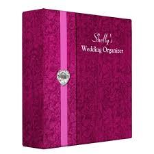 wedding organizer binder pink wedding organizer binder zazzle