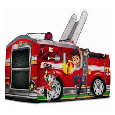 patrol marshall u0027s fire truck tent by playhut