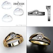 jewellery rings engagement images Custom made modern engagement ring zoran designs jewellery