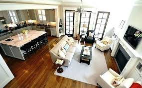 kitchen family room floor plans small open floor plan kitchen living room small open floor plans