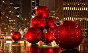 christmas balls street decoration yourtripto