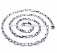necklace chain metal types images Large black stainless steel curb link mens chain necklace chain jpg