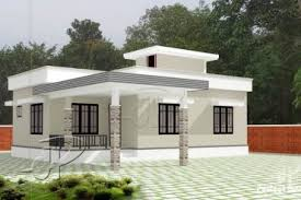 2 bhk low budget home design at 1054 sq ft interior home plan