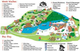 weeki wachee springs theme park map weeki wachee springs theme