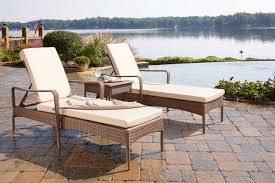 chaise pc biscayne 3 pc chaise lounge set