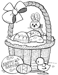 easter bunny coloring page an easter bunny dying eggs images of