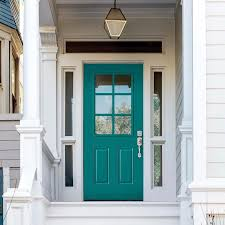 painting the front door popsugar home best exterior house