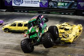 monster jam new trucks photos monster jam truck tour ignites matthew knight arena uwire