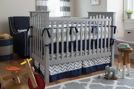 Gray Baby Crib Bedding Navy And Gray Elephants Crib Bedding Carousel Designs