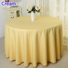 banquet table linens wholesale cream colour wedding table cover table cloth polyester table linen