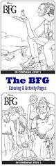 disney u0027s the bfg coloring pages and activity pages thesuburbanmom