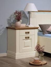 Schlafzimmer Komplett Massiv Schlafzimmer 3teilig Bett 100x200 Nachtkommode Highboard
