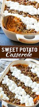 sweet potato casserole with marshmallows dinner at the zoo