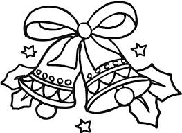 coloring pages cute bell coloring pages bell3 christmas bell