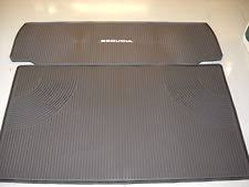 toyota sequoia cargo liner toyota sequoia 2008 2018 2 all weather rubber cargo mat