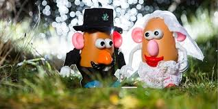 now we what mr potato s wedding would look like huffpost