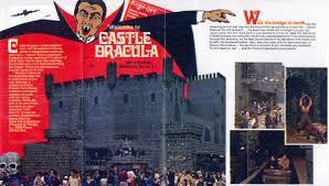 castle dracula wildwood nj advertising 1978 brochure