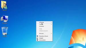 pc bureau windows 7 tuto pc changer la taille des icônes windows 7