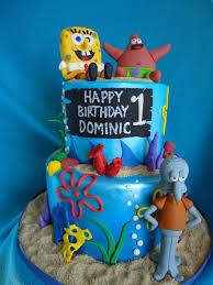 spongebob patrick and squidward cakecentral com