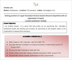Mba Fresher Resume Pdf Resume Objectives U2013 46 Free Sample Example Format Download