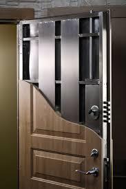 Steel Exterior Security Doors Reinforced Steel Entry Door Stashvault