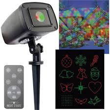 Christmas Outdoor Light Projector by Night Stars Celebration Series Outdoor 12 Pattern Laser Christmas
