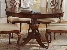 Classic Dining Room Sets by Finish Round Classic Dining Table W Pedestal Leg