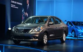 nissan versa dark blue 2012 nissan versa sedan first look automobile magazine