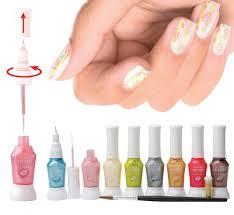 rio professional nail art pens pastel collection amazon co uk