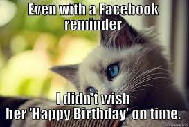 Belated Birthday Meme - belated birthday quickmeme