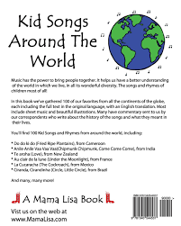 kid songs around the world a book