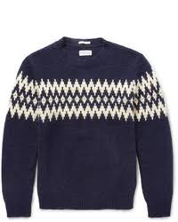 men u0027s fair isle sweaters by gant men u0027s fashion