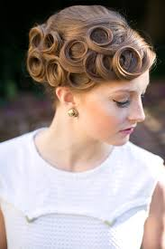 pin curl pin curl wedding hairstyles hairstyle for women
