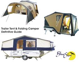 choosing a folding camper or trailer tent what are the options