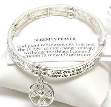 prayer bracelet images Serenity prayer bracelet ebay JPG