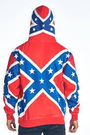 Southern Rebel Flag Confederate Rebel Flag Hoodie Southern Dixie Redneck Pride