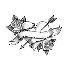 tattoo clipart stencil flower pencil and in color tattoo clipart